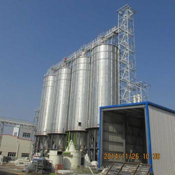 Top quality grain steel silo for corn wheat paddy rice storage