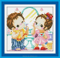 New design for diy diamond painting(lovers 1)