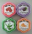 acetone free nail polish remover pads (flower)