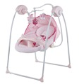 smart size iron frame electric baby cradle with canopy mosquito net(Model TY012M)