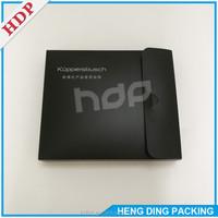 Factory Offer PP Plastic Black Gift Box