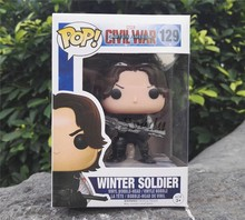Sveda Hot selling POP action figures, Captain America3 PVC figures, Winter soldier POP wholesale price