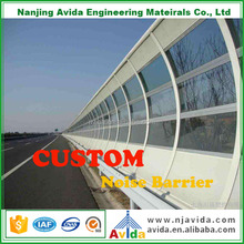 outdoor soundproofing material road noise barrier