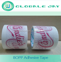 Red packing tape, Red BOPP tape, Printing tape