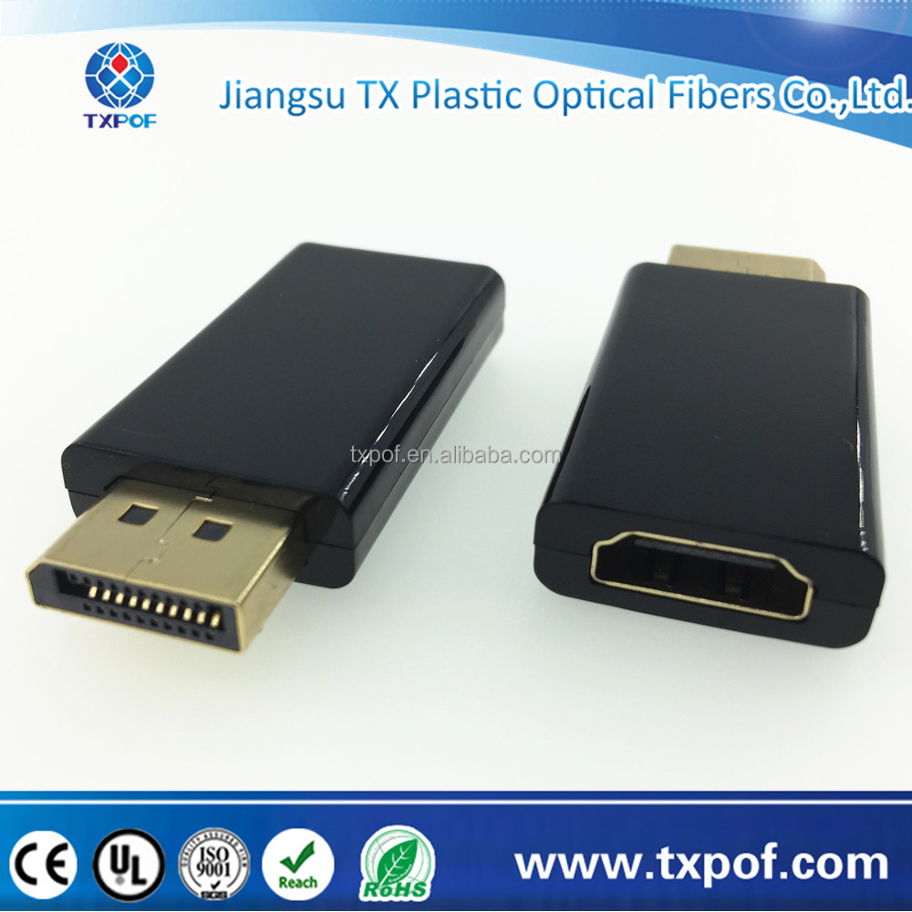 Gold Plated Display Port DP Male To HDMI Female Adapter Converter