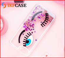 Hot Selling PC Liquid Star Quicksand phone cases,bling glitter cell phone case for iphone 6S Plus