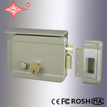 Door Lock with Cover Plate, Push Button, Can be Used for Building Intercom