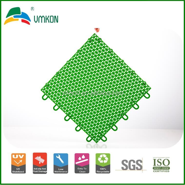 vmkon plastic suspended sports flooring tiles for volleyball court vha-252513