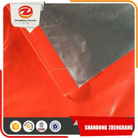 dual color coated tarpaulin design