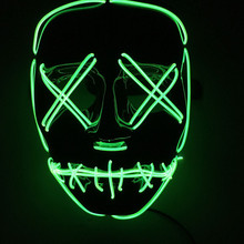 Wholesale custom led ficial mask, cheap party masks for sale