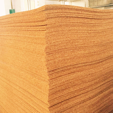 large sheets of frameless cork board