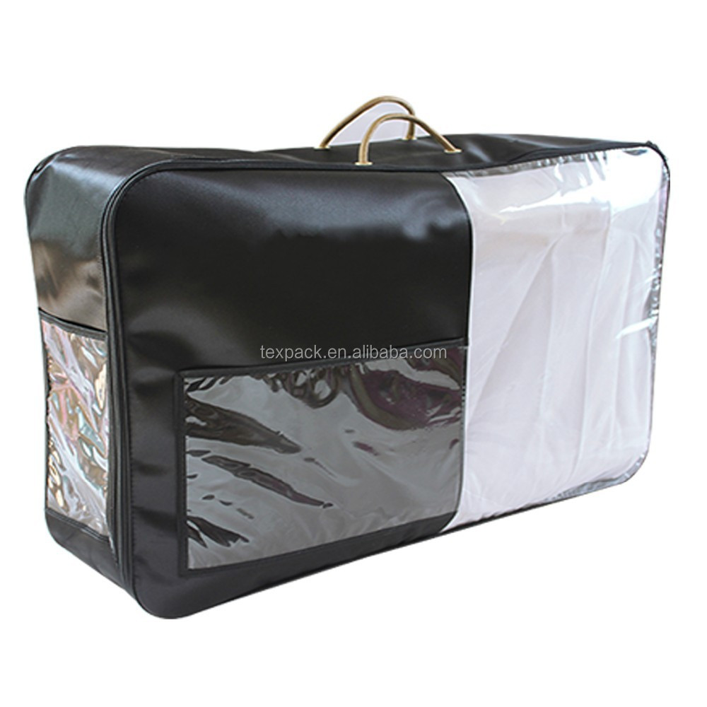 Wire frame comforter packaging bag
