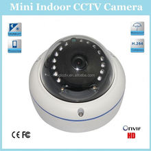 Mini Sony CCD 420Tvl Waterproof Metal Ir Dome Indoor Hd Cctv Camera Rohs With 3.6mm Lens