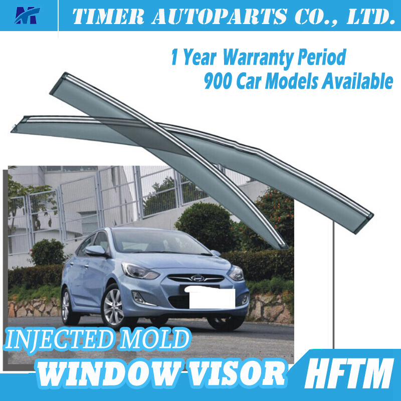 Top quality auto parts plastic car window sun visor For hyundai Accent 2012