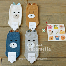 2016 New Boat Socks 100% Cotton Girl White Socks