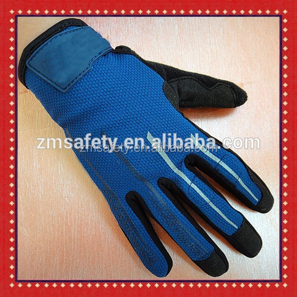 Mesh Back Summer Motorcycle Motorbike Gloves