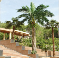 high quality large outdoor artificial palm tree tops for sale