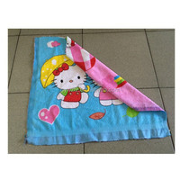 Double Sided Printing Cotton Towels Beach Towels