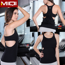 Custom make sexy women yoga clothing fitness and stringer tank top