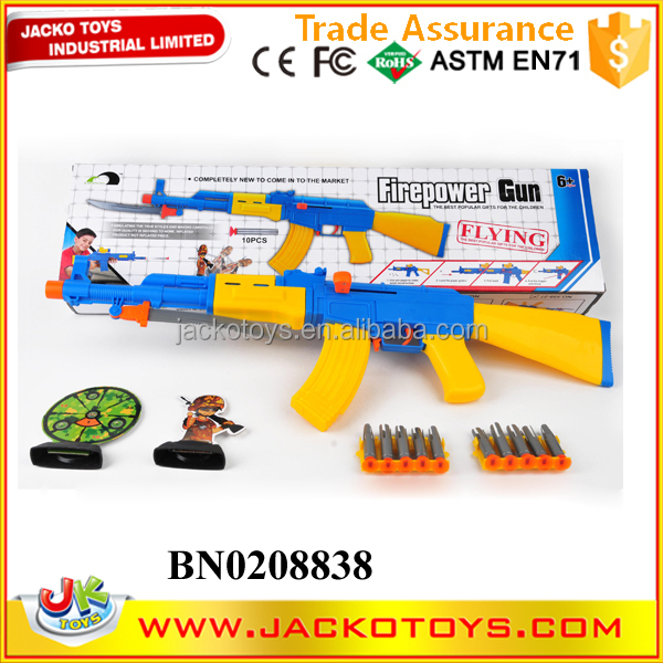 china wholesales soft bullet gun safe kids toy gun with bullet target