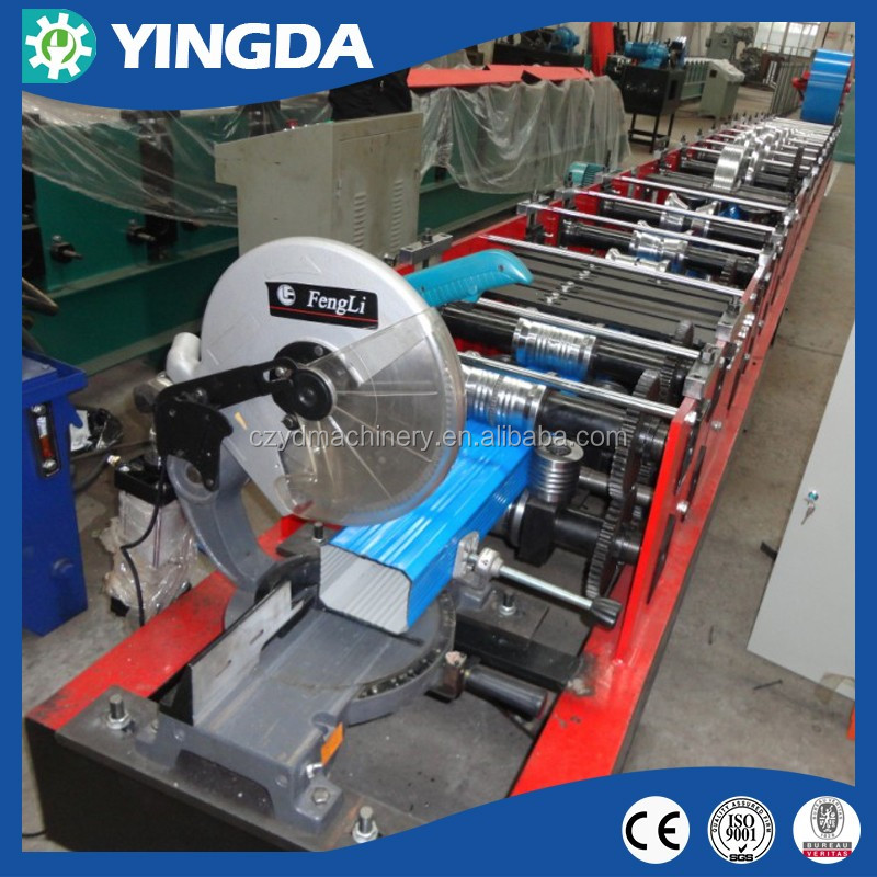 YD CE Quality Cold Steel Aluminum Round and Square Down Pipe Roll Forming Machine