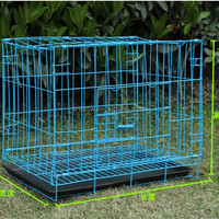 Metal Folding Dog Kennel/Large Dog Cages