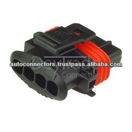 Bosch 1 928 403 112 - 4 Way Female Compact Connector 1 (1.928.403.11, 192840311)