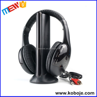Best portable colorful mp3/4 bulk china silent disco wireless headphone