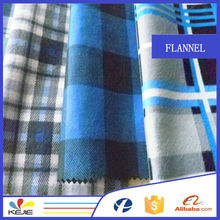 Good quality with competitive price flannel shirt fabric stocklot