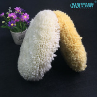 with SGS approved 100% natural wool buffing pad for hard glass polishing