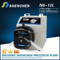 N6-12L fruit juice milk coffee dispensing peristaltic pump