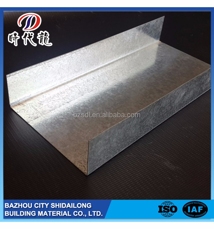 Profession Manufacturer Useful Galvanized Steel Cd & Ud Profiles