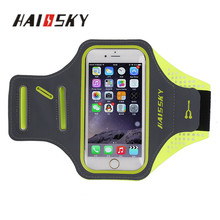 HAISSKY 5.5 inch armband cellphone in Mobile phone bags &cases for iphone 7/7 plus for iphone 6/6 plus