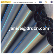 "pipe hdpe 12"" sdr 11 315 mm PE 100 HDPE pipe black plastic water pipes"