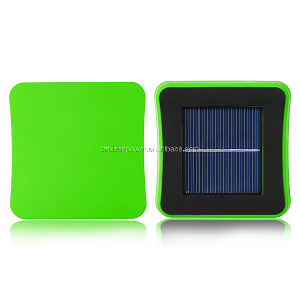 Wholesale window mounted solar energy power battery charger rechargable power bank for mobile phones, ipad,iphone