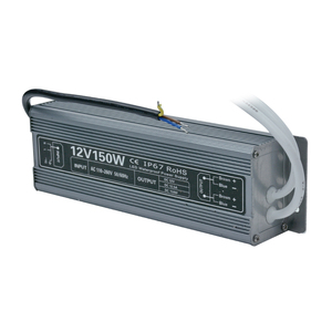 OEM DC12Volt 150W LED Switch IP67 Waterproof LED Power Supply with Metal Case for LED Street light