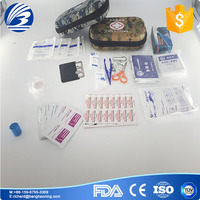First aid kit for trave, camp, workplace, home and outdoor