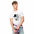 Wholesale Short Sleeve t -shirt printing O-neck Cotton Tshirts white Men's T-shirts Summer Style Fashion Swag Men T shirts