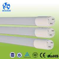 Clear cover 1200mm 1800lm t8 18w led tube lights equivalent to 40w fluorescent tube