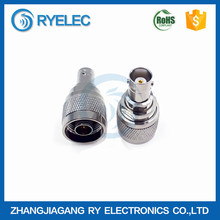 High quality 50ohm N type male to BNC female RF adapter connector
