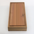 Customize square paulownia tea package box, crafts torage boxes