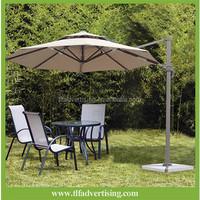 Durable waterproof garden patio umbrella /large size outdoor standing parasol/ Roman unbrella from China factory
