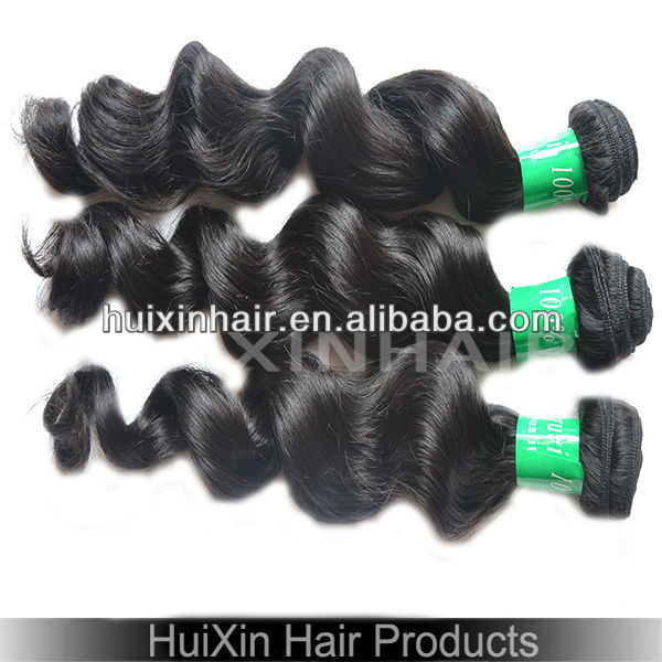 Nice packing loose wave diamond hair extensions goddess unprocessed raw loose wave hair weave black natural hair ponytail