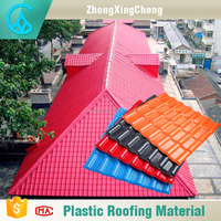 Hot Sells Synthetic Resin Tiles Falt Sheet with Full 25 Years Warranty Factory Sell roof leak repair