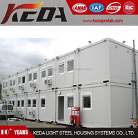 Knock Down Movable House Container Office Building 413