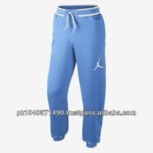 baseball custom all sky blue color 80%cotton & 20%polyester fleece trouser/pant/pajama for Adult, mens, womens, unisex