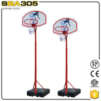 leisure wholesale plastic sport basketball equipment