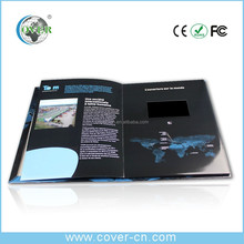 Promotional 4.3'' LCD Video Greeting Card, Video Brochure Card In A5 Paper