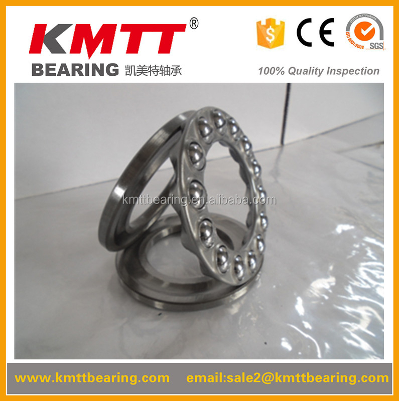 100% hot sale and good price high precision 100% test thrust ball bearings 51115