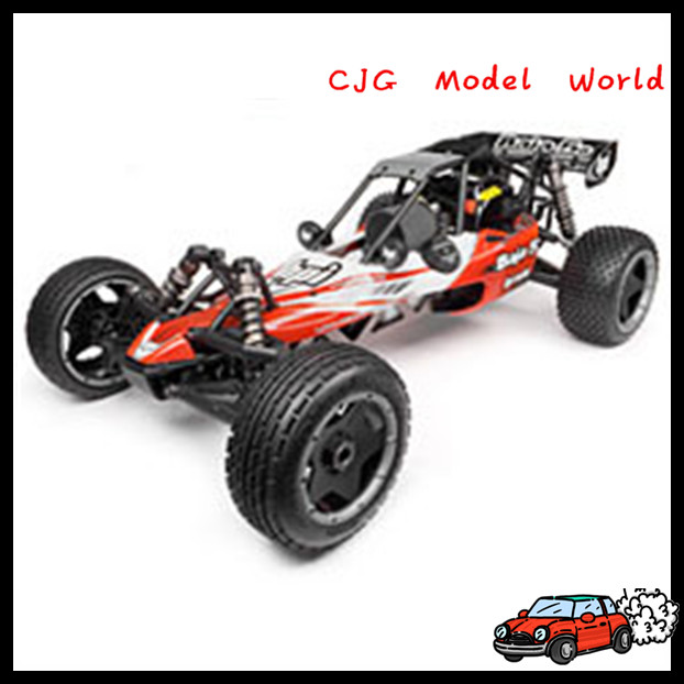 1:10 Scale Electric/gas/ RC model Car metal Chassis with Aluminium upgrades parts for sale
